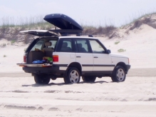 Long drives on the beaches of the outer banks